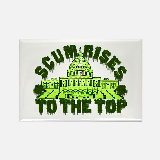 Scum Rises To The Top Rectangle Magnet (10 pack)
