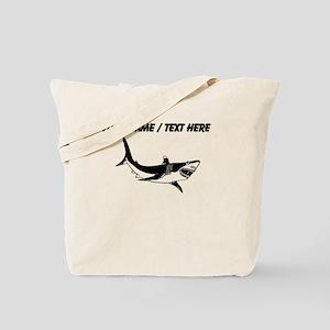 Custom Shark Tote Bag