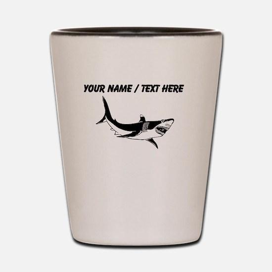 Custom Shark Shot Glass