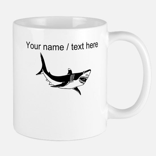 Custom Shark Mug