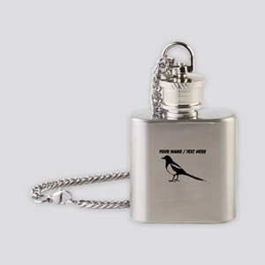 Custom Magpie Flask Necklace