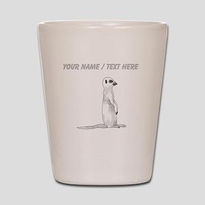 Custom Meerkat Shot Glass