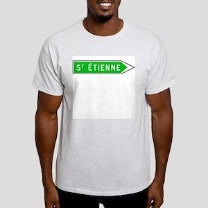 Roadmarker Saint-Étienne - France Ash Grey T-Shirt