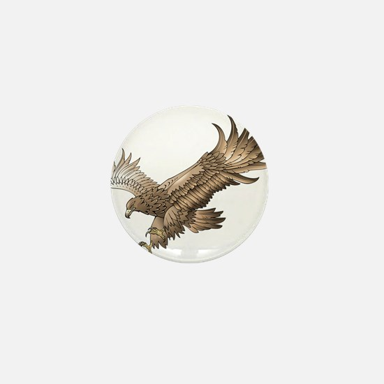 Soaring Eagle Mini Button