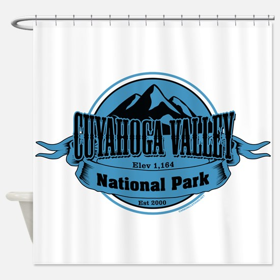 cuyahoga valley 4 Shower Curtain