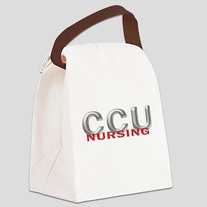 CCU Nursing Canvas Lunch Bag