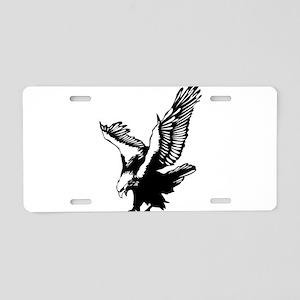 Black Eagle Aluminum License Plate