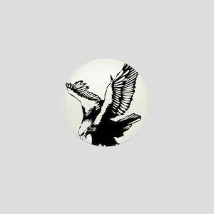 Black Eagle Mini Button