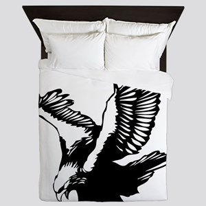 Black Eagle Queen Duvet