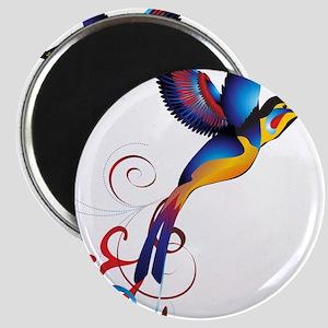 Colorful Hummingbird Magnet