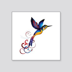 Colorful Hummingbird Sticker