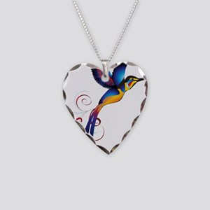 Colorful Hummingbird Necklace