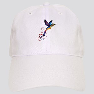 Colorful Hummingbird Baseball Cap