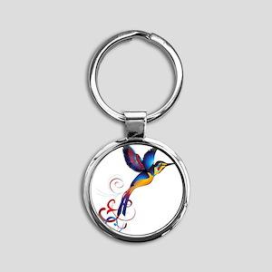 Colorful Hummingbird Keychains