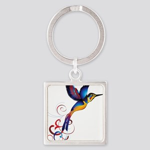 Colorful Hummingbird Keychains