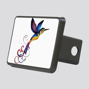 Colorful Hummingbird Hitch Cover
