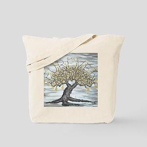 Furever Love Tree Art Tote Bag