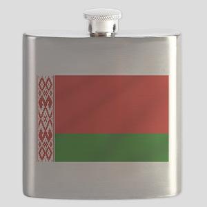 Flag of Belarus Flask