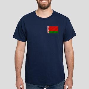 Flag of Belarus Dark T-Shirt