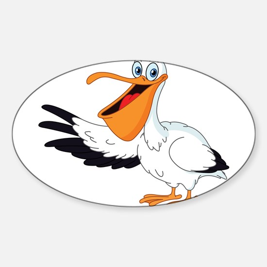 White Pelican Decal