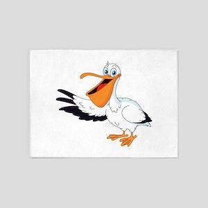 White Pelican 5'x7'Area Rug