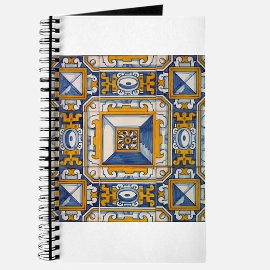 Azulejo Azul e Amarelo Journal
