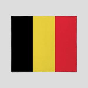 Flag of Belgium Throw Blanket