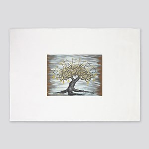 Furever Love Tree Art 5'x7'Area Rug