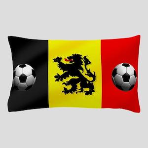 Belgium Football Flag Pillow Case