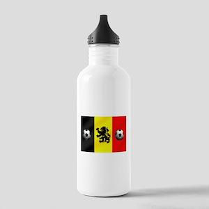 Belgium Football Flag Stainless Water Bottle 1.0L