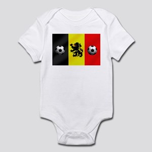 Belgium Football Flag Infant Bodysuit