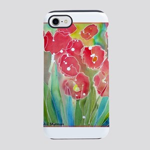 Flowers! Colorful art! iPhone 7 Tough Case