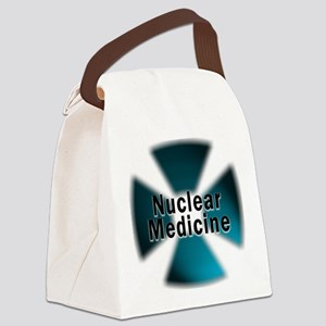 radioactive nuclear medicine Canvas Lunch Bag