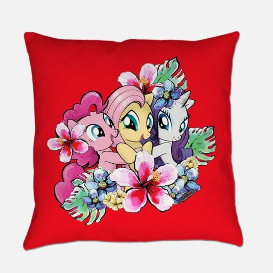My Little Pony Flowers Everyday Pillow