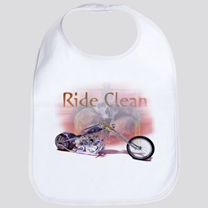 Ride Clean and Sober Baby Bib
