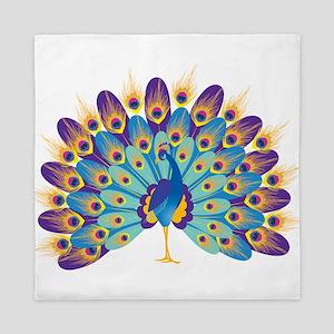 Peacock Queen Duvet