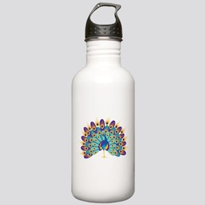 Peacock Water Bottle