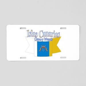 Islas Canarias Aluminum License Plate