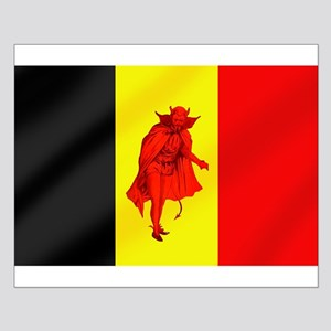 Belgian Red Devils Small Poster