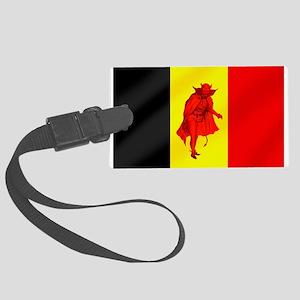 Belgian Red Devils Large Luggage Tag