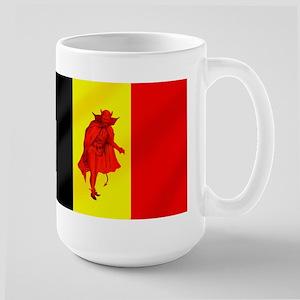 Belgian Red Devils Large Mug