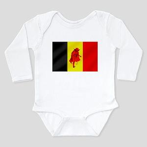 Belgian Red Devils Long Sleeve Infant Bodysuit