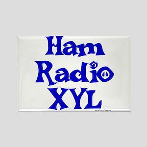 Ham Radio XYL Rectangle Magnet