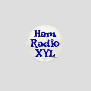Ham Radio XYL Mini Button