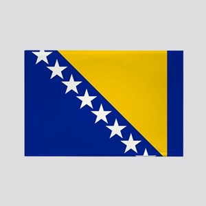 Flag of Bosnia Rectangle Magnet