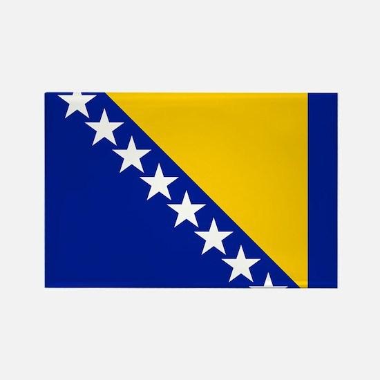 Flag of Bosnia Rectangle Magnet