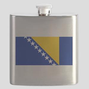 Flag of Bosnia Flask