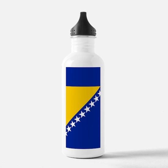 Flag of Bosnia Water Bottle