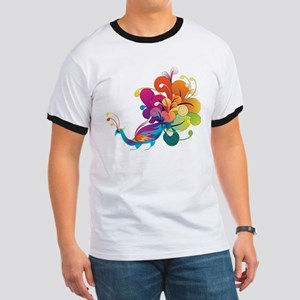 Rainbow Peacock T-Shirt
