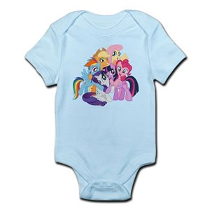 8e8d2496140b My Little Pony TV Show Baby Clothes   Accessories - CafePress